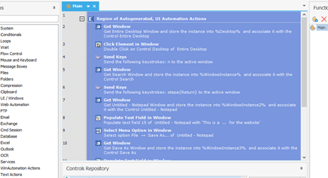 Windows Macro Recorder - Robotic Process Automation